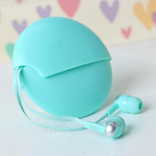 Fashion In-Ear stereo headphone for kids earphone with storage case cute earbuds for Iphone samsung MI LG Huawei HTC