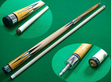 2015 Brand New Special Price 57 inch High quality Maple Wood 1/2 Jointed Pool Cue Stick Billiard Cue with 12.5mm Cue Tips(China)