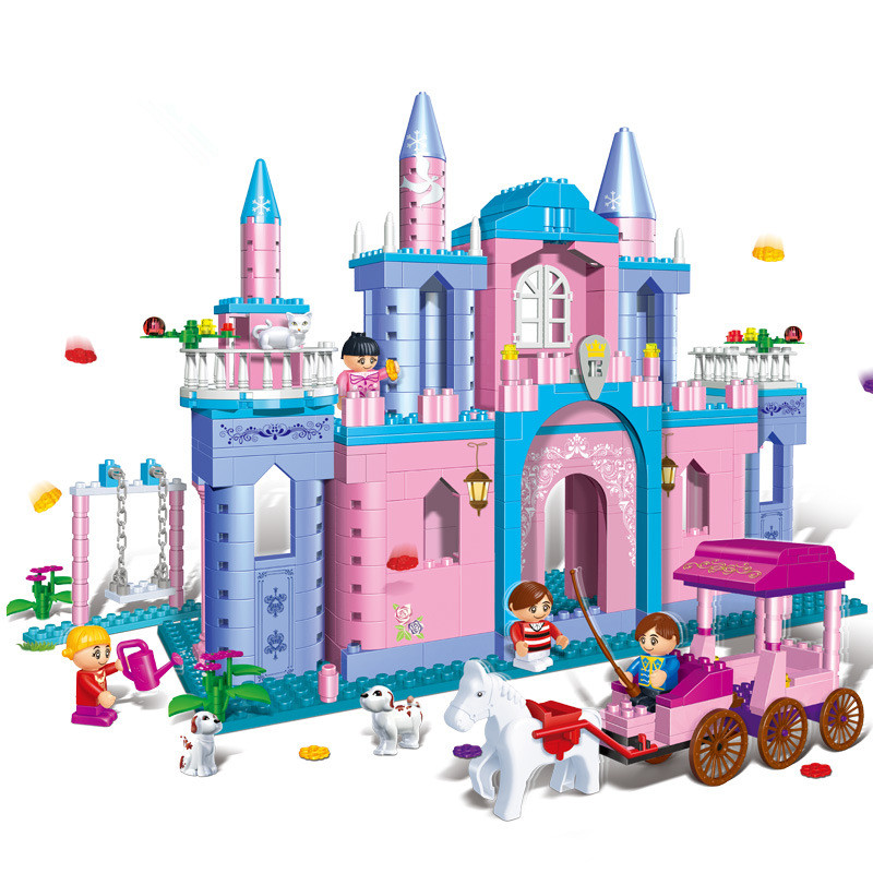 On Stock Hot Sale Super Large Building Blocks Friends 532 Pcs 4 Toy Figures Princess Castle Bricks Toys for Girls Kids Toys<br><br>Aliexpress