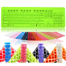 PC Desktop keyboard Cover For Logitech K310 Soft silicone dustproof waterproof keyboard Protectorfor laptop PC computer