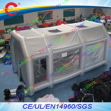 free air shipping to door,8x4x3mH Inflatable Spray Booth cabin,Outdoor Portable Paint Booth Car Tent