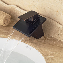 Different Design High Quality Washbasin Sink Faucet Oil Rubbed Bronze Waterfall Spout(China)