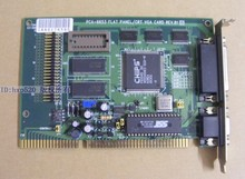PCA-6653 REV.B1 industrial graphics ISA old graphics card can point LCD LCD