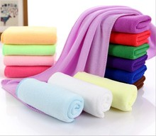 Thick Quality 30CMX70CM microfiber Face towel Super Soft Cleaning Cloths Travel Swimming Camping Quick dry Towel Dish towels