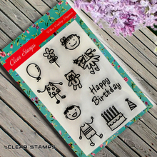Scrapbook DIY photo cards account rubber stamp finished transparent chapter Baby Boy and Baby Girl
