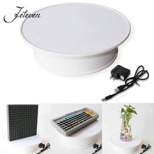 20CM Rotating Turntable Decorating Revolving Modelling Tool Display Stand Plate For Jewelry Watch Digital Product Holder