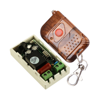 AC 220 V 1CH Wireless Remote Control Switch System Receiver & 1 Keys Remote For Appliances(China)
