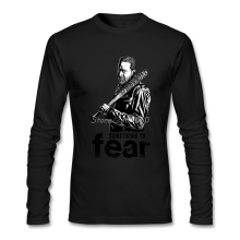 Negan The Walking Dead Men Shirt  Family High Quality Custom Long Sleeve Latest Designing T Shirts