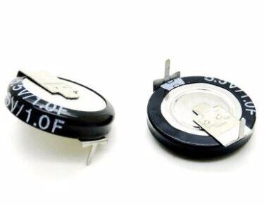 10Pcs/lot Super farad capacitor 5.5V1.0F  capacitor farad capacitor 5.5V 1.0 Farad 1F5.5V Hot sale<br><br>Aliexpress