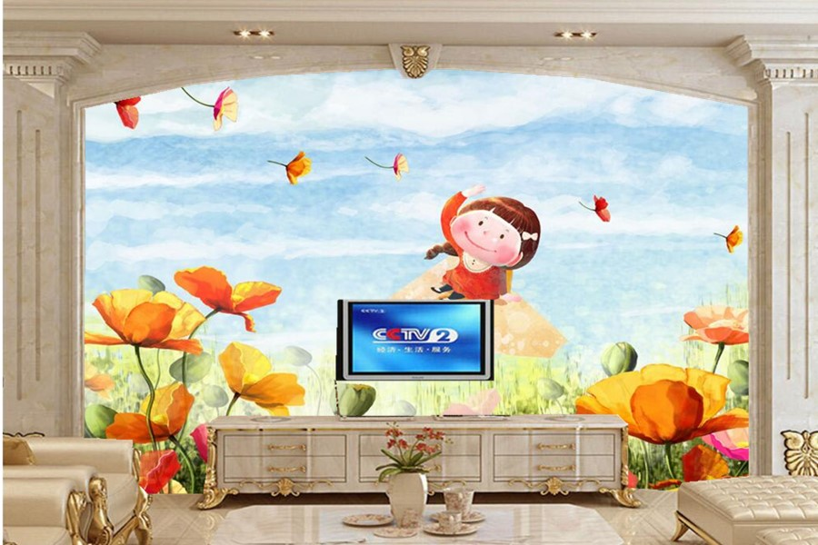 Custom 3d wall murals wallpaper,Painting oil painting wallpaper,living room sofa TV wall coffee shop children room wallpaper<br>