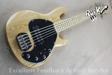 Hot Selling Music man Bass 5 Strings Erime Ball StingRay Electric Guitar Chrome Hardware In Stock for Shipping(China)
