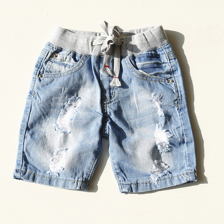 Kids Girls Shorts 2017 Baby Girls Denim Shorts Fashion Boys Girls Shorts Water Washing Soft  Ripped Jeans Children Jean Shorts<br><br>Aliexpress