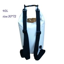40L Waterproof Bag Dry Bag Outdoor Drifting Canoeing Swimming dry  Bag Lightweight with 250D pvc tarpaulin