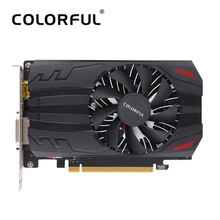 Colorful NVIDIA GeForce GT1030-2G GPU 2GB 64bit Gaming GDDR5 PCI-EX4 3.0 Video Graphics Card DVI+HDMI 1 Cooling Fan For Desktop(China)