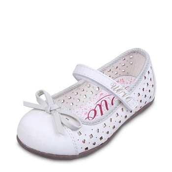 UOVO children little girls dress shoes girls princess shoes bowtie white shoes Soft pretty comfortable for kids girls