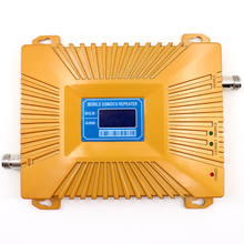 GSM 900 1800 repeater dual band 2g 4g lte mobile phone signal booster cell phone GSM DCS dual band signal repeater amplifier