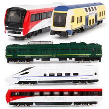 1:50 alloy train model, high simulation Harmony train, diecast metal metro,children's gift toy vehicles,free shipping.(China)