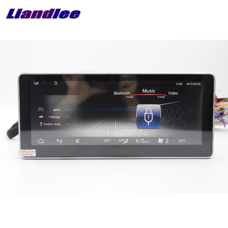 Liandlee Car Multimedia Player NAVI For Mercedes-Benz MB GLC Class X253 C253 2015~2018 Car Radio Stereo GPS Navigation 2