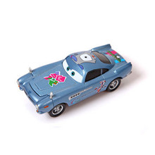 Disney Pixar Cars Finn McMissile Paralympic Emblem London 2012 Diecast Alloy Metal Car Toy 1:55 scale  Car Model