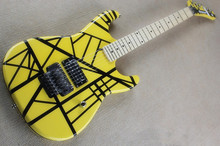 China made Music instrument,cutsom Yellow color Kramer electric guitar,free shipping