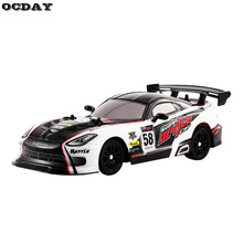 OCDAY 1:16 High Speed RC Car 27MHz 4WD Radio Remote Control Toys On Road Racing Car RTR Drifting RC Vehicle Toys for Children(China)