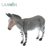 Lamwin Free Shipping Lifelike Donkey Action Figure Model Plastic PVC Farm Animal Toys For Children(China)