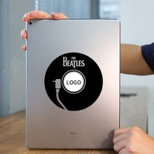 Beatles DJ Player Laptop Sticker for Apple iPad Decal Air / 1 /2 / 3 / 4 / Mini Surface Book Tablet PC Skin Notebook Stickers