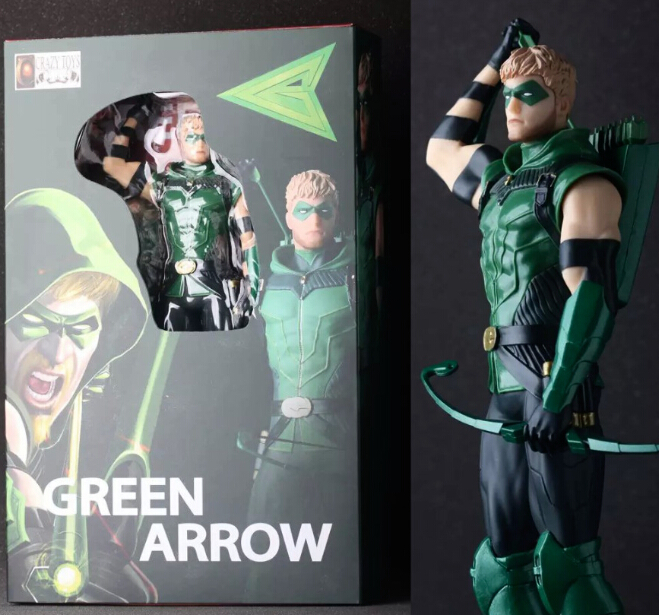 NEW hot 28cm Justice league Arrow action figure toys Christmas gift<br><br>Aliexpress