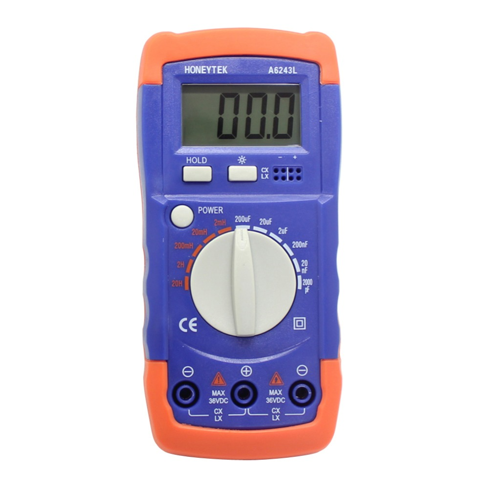 3 1/2 LCD Inductor/Capacitor LC Meter compared FLUKE UK Ship<br><br>Aliexpress