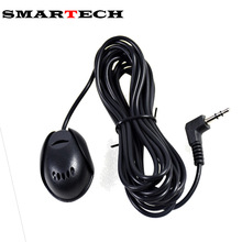 SMARTECH Bluetooth Car Kit Auto external microphone External Mic For Car CD DVD Radio Car Hand-Free Call Car Radio(China)