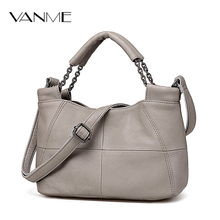 Best Special Offer New Bucket Quality Genuine Leather Women Handbags 2017 Brand Tote Bag Plaid Top-handle Famous Designer Totes(China)