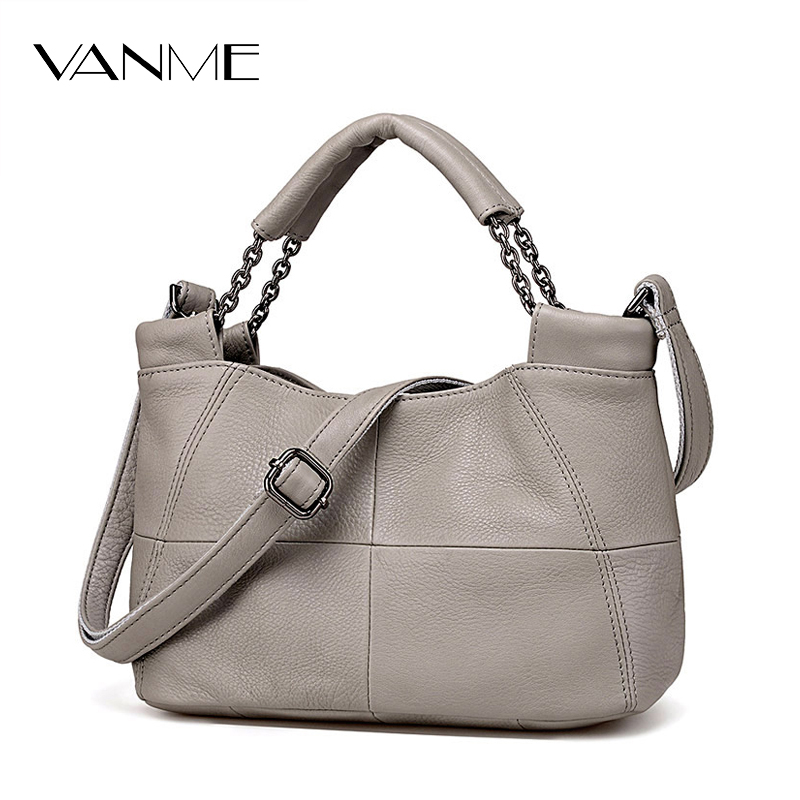 Best Special Offer New Bucket Quality Genuine Leather Women Handbags 2017 Brand Tote Bag Plaid Top-handle Famous Designer Totes<br>
