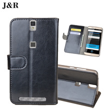 Buy Leather Case Elephone P8000 4G LTE 5.5 inch Wallet Case Flip Cover J&R Luxury Stand Mobile Phone Bags & Cases Card Slot for $4.49 in AliExpress store