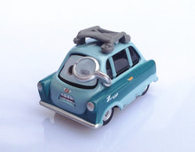 Hot Sell Disney Pixar Cars 2 Professor Z 1:55 Diecast Metal Alloy Model Car Loose Toys Cars For Kids Children Lightning Mcqueen(China)