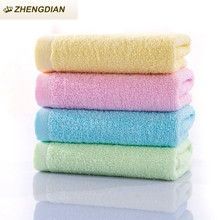 Zhengdian 2017 New pure cotton plain towel soft  fast dryingabsorbent skin-friendly air permeability bath face towels healthy