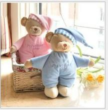 hot sale 1pcs Baby plush bear toy soft gift for baby child newborn product boy girl safety high quality(China)