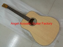 Acoustic Guitar Natural Top Solid spruce 41 inches Guitar ---We can also customize various brand guitar and logo for you