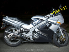 Hot Sales,Cheap Fairing Kits For Kawasaki ZZR 250 Parts ZZR-250 ZZR250 90-07 Body Kits 1990-2007 Silver Black Motorcycle Fairing