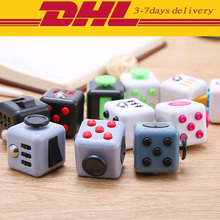 Buy 50 pcs 3.3cm Fun Stress Reliever Puzzle Fidget Cube Relieves Anxiety Stress Juguet Fidget cube magic cube Desk Spin Toys DHL for $135.00 in AliExpress store