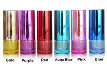 100pcs/lot Round 20ml Glass Parfum Bottle Refillable Glass Spray Bottle for Perfumes 6colors