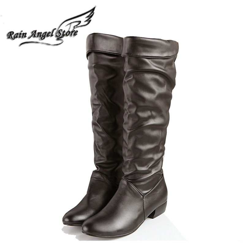 2015 Spring Single Women Boots Patent Leather Jackboots Over The Knee Boots Female White Bota Feminina Size 34-39<br><br>Aliexpress