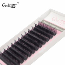 1 Case 0.03mm C/D Curl Russian Volume Mink Eyelash Extensions Super Thin and Soft Real 0.03 Lash Material Softer than 0.05(China)