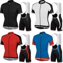 2016 Summer Four Color RACING Cycling Jerseys Ropa Ciclismo Cycling Clothing Bike Pro Sport Wear Gel Breathable Pad Bib Shorts