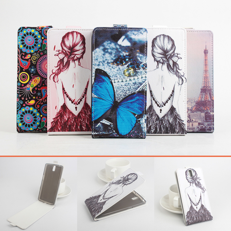 Fashion Colorful Pattern PU Leather Cover OnePlus One Flip Case Vertical Back Plus Open  -  Shop2950246 Store store