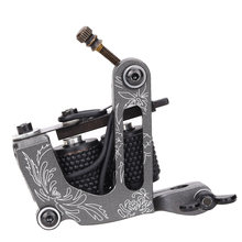 Aluminium Alloy Coils Tattoo Machine Tattoo Guns Liner Shader for Tattoo Artist Body Art Supply Black