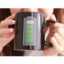 Magic Battery Coffee Tea Milk Hot Cold Heat Sensitive Color-Changing Mug Cup(China)