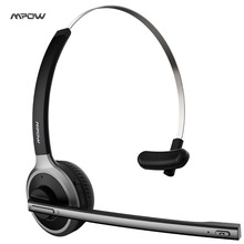 Mpow New Bluetooth V4.1 Headset Wireless bluetooth Car driver headset handsfree call Noise Canceling headphone with microphone