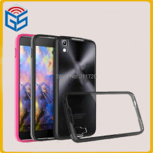 Electrical Wholesale Trading High Clear Hard PC+TPU For Alcatel Nitro 4 For Alcatel One Touch Idol 4 6055 Back Case Cover
