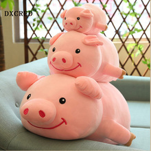 30cm Colorful Giant pig Stuffed Animal Toy Animal Shape Pillow Baby Toys Home Decor gift kid children
