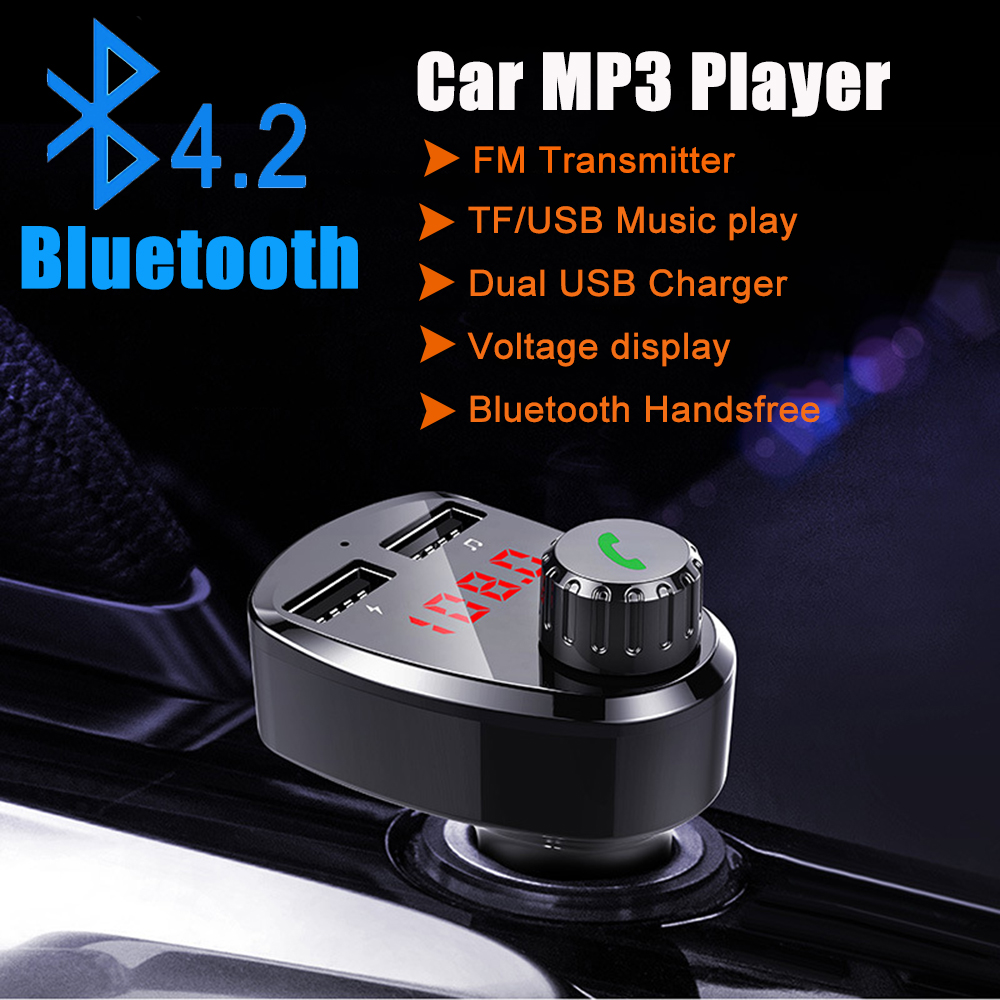 E0146 G13 Bluetooth Car Kit FM Modulator (13)